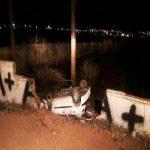 واژگونی خودروی فوتبالیست تهرانی در پاکدشت +جزئیات و تصاویر