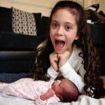 دختر 8 ساله خواهرش را به دنیا آورد ! +تصاویر