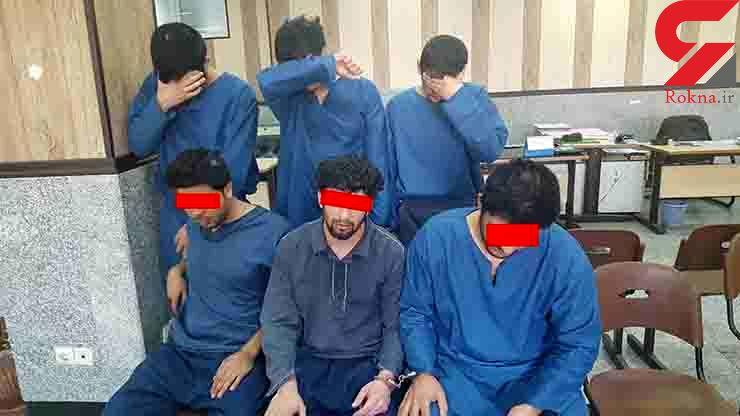 دستگیری سارقان نقابدار