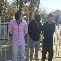 دستگیری سارقان خودرو حمل پول بانک پاسارگاد در لاهیجان +تصاویر