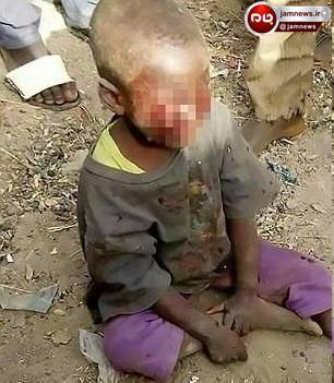 مجازات وحشیانه کودک