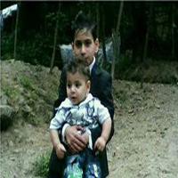 مرگ غم انگیز کودک ۴ ساله در آتش سوزی روستای شفت +تصاویر