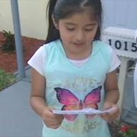 نامه دختر بچه به دزد که اشک همه را درآورد +عکس