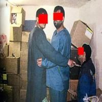 بازسازی صحنه قتل شبانه در مسعودیه تهران در پی آشتی کنان مستانه +تصاویر