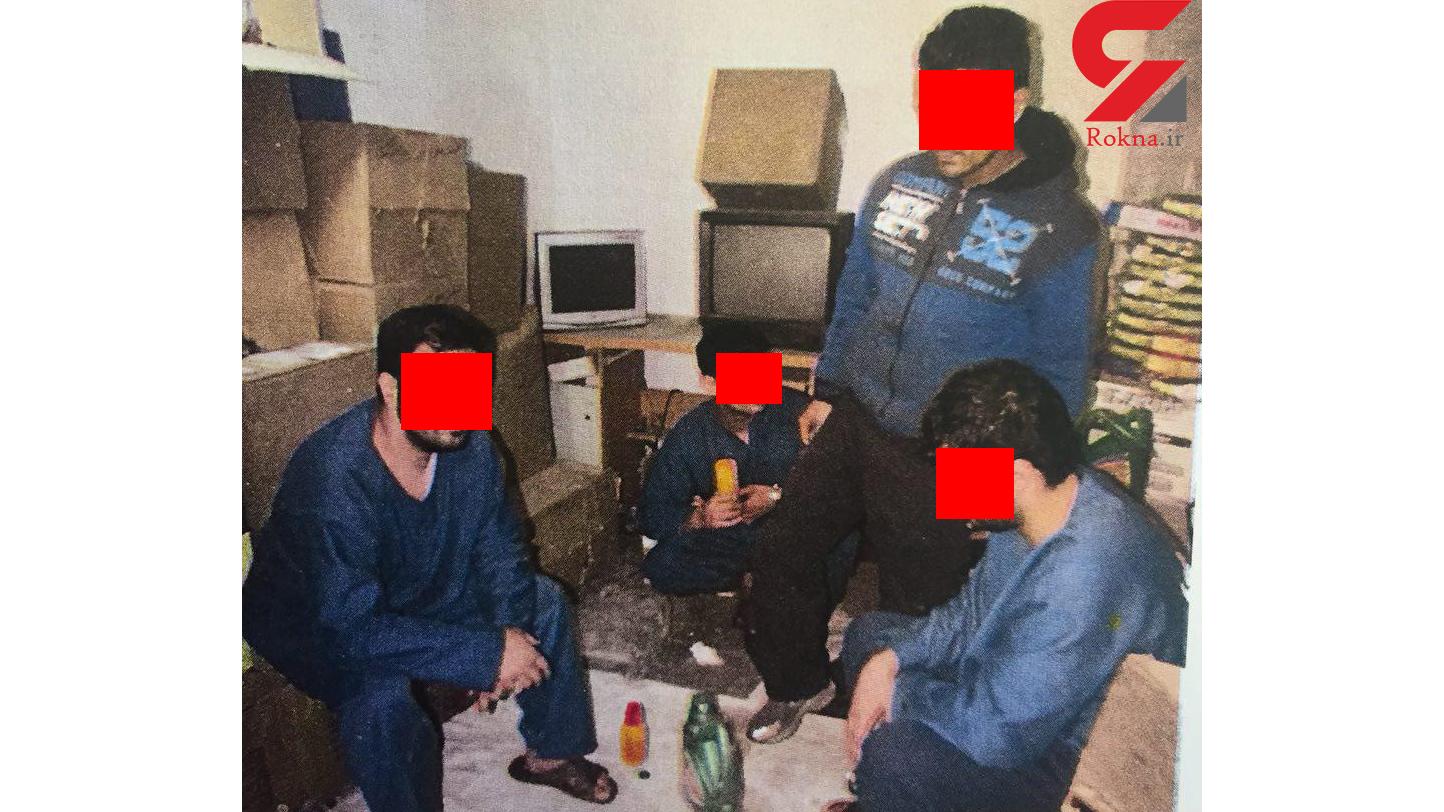 بازسازی صحنه قتل شبانه در مسعودیه