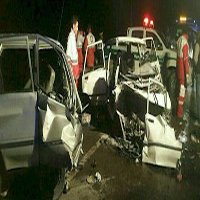 تصادف خونین دو پراید ۷ کشته و زخمی در آذربایجان برجای گذاشت +عکس