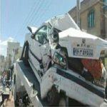 تصادف دردناک تریلی هوو 11 خودرو را در دماوند له کرد +تصاویر وحشتناک!