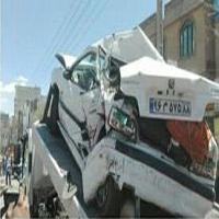 تصادف دردناک تریلی هوو ۱۱ خودرو را در دماوند له کرد +تصاویر وحشتناک!