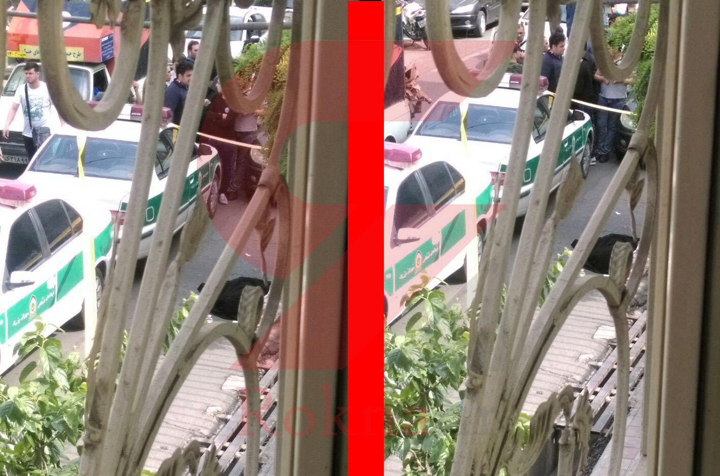 تکه تکه کردن یک مرد در خیابان پیروزی + تصاویر