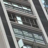 سقوط وحشتناک کودک ۳ ساله از برج اداری ۲۰ طبقه +تصاویر