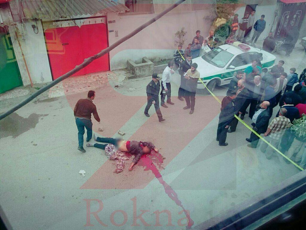 قتل وحشتناک ناموسي در محمود آباد شمال