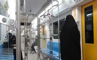 اقدام شرم آور و کثیف مرد زن نما در واگن زنانه مترو