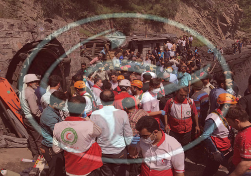 انفجار معدن زغال سنگ آزادشهر