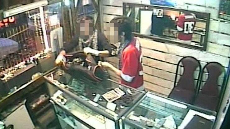 تعقیب و گریز مسلحانه پلیس با دزدان