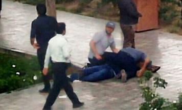 تعقیب و گریز مسلحانه پلیس با دزدان طلافروشی ها در روز روشن