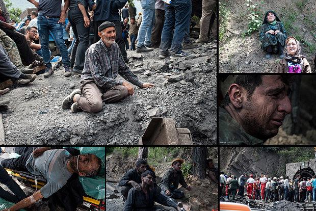 جزییات جدید از انفجار معدن زغال سنگ ,۲۲ جان باخته و سرنوشت ۱۴ کارگر نامعلوم +تصاویر