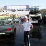 در آتشسوزی مرگبار مینیبوس 4کارمند ایران ایر زنده زنده سوختند