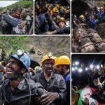 کشف پیکر 13 معدنچی فاجعه دردناک معدن آزادشهر +تصاویر