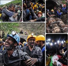 کشف پیکر ۱۳ معدنچی فاجعه دردناک معدن آزادشهر +تصاویر