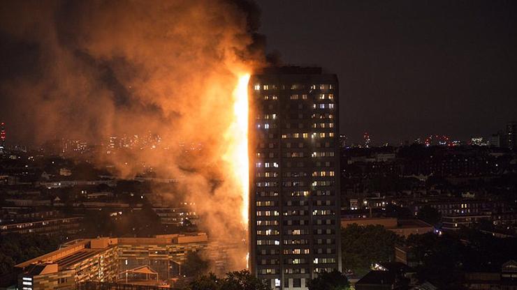آتشسوزی بزرگ برج مسلماننشین