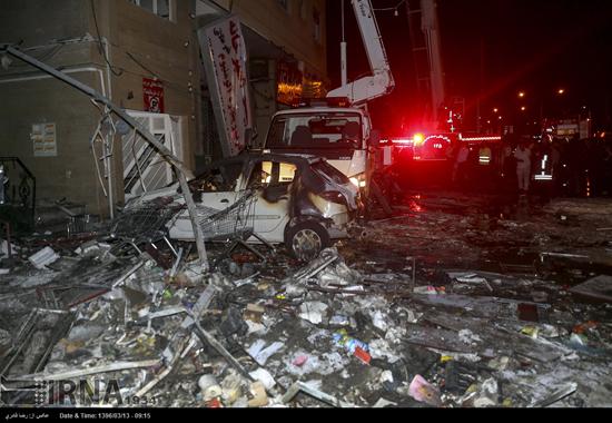 انفجار هولناک هایپر مارکت شیراز