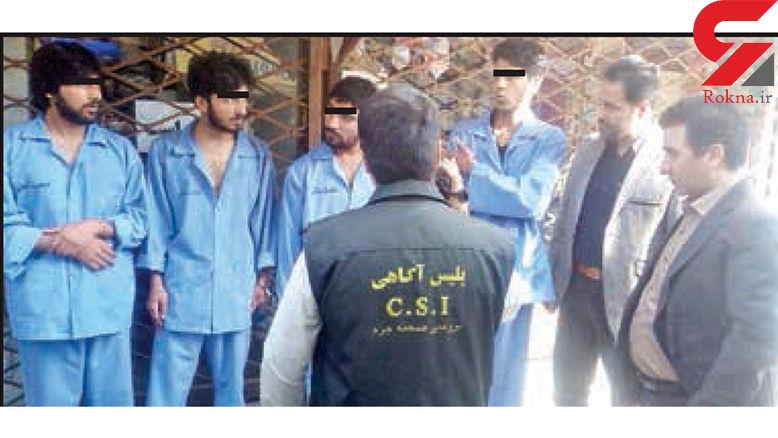 خنجرکشی خونین در مشهد