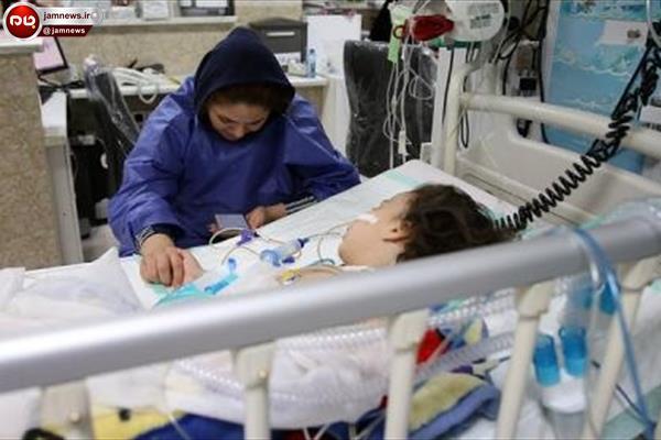 مرگ دردناک دختر بچه ۳ ساله