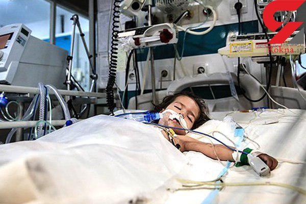 جدال دختر 5 ساله با مرگ
