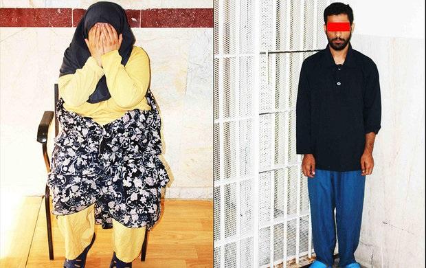اعتراف زن خیانتکار به قتل شوهرش