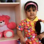 ستایش 3 ساله دختربچهای که قربانی کودک آزاری ناپدریاش شده بود