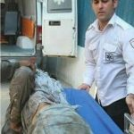 فرو رفتن میلگرد ۲ متری در بدن کارگر ۱۶ ساله در تهران +تصاویر