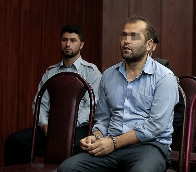 جنگ روانی قاتل «آتنا کوچولو» در دادگاه +عکس