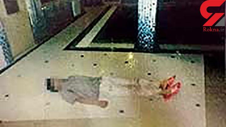 قتل زن جوان در استخر خانگی