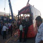 اعلام نتیجه تست الکل راننده اتوبوس دانش آموزان هرمزگانی +عکس