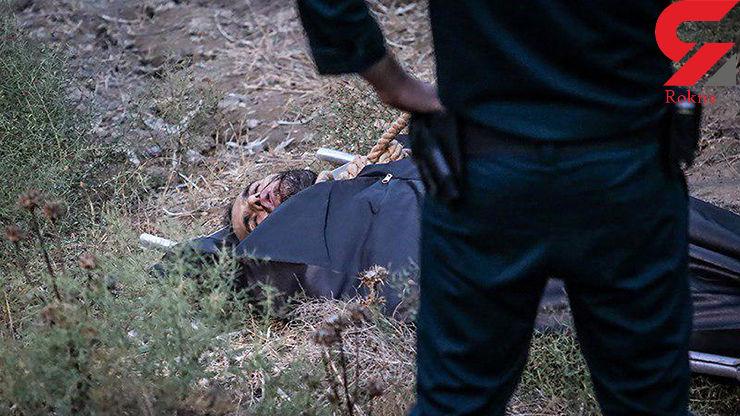 جنازه قاتل آتنا اصلانی