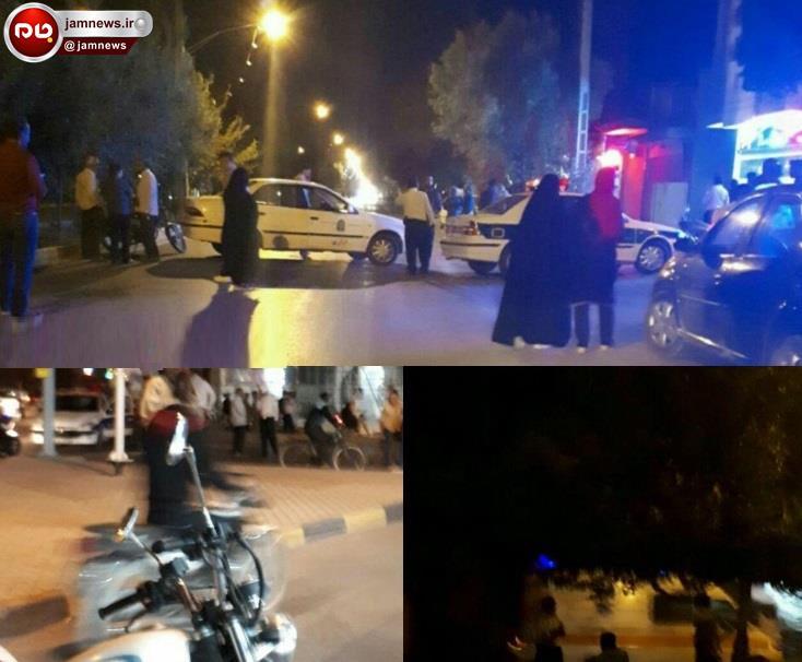 خودروی بمب گذاری شده در نجف آباد