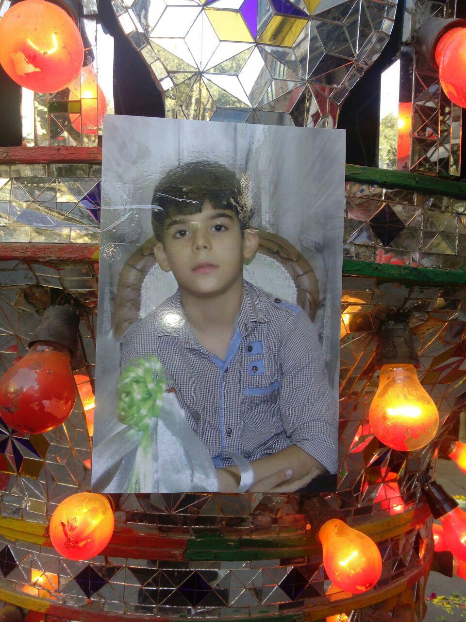 قتل ابوالفضل ۱۱ ساله