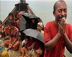 تصاویر تکاندهنده از قتل عام وحشیانه مسلمانان در میانمار +(۱۶+)