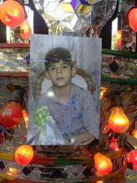 وداع دلخراش با ابوالفضل ۱۱ ساله که مانند آتنا مظلومانه کشته شد +تصاویر