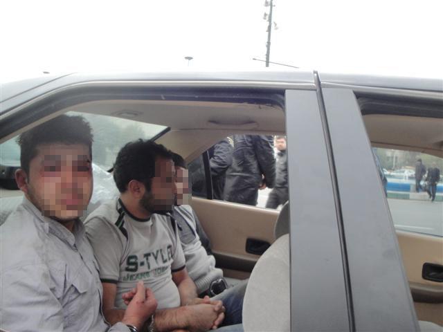 گروگانگیری 500 هزار یورویی در زعفرانیه