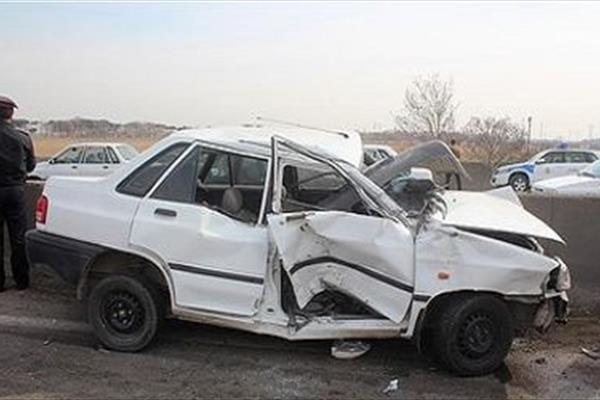 مرگ در حادثه تصادف