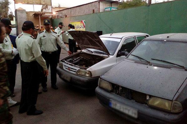 باند سرقت خودرو