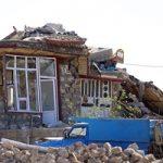 حرفهای تلخ مرد زلزله زده :همسرم جانش را داد تا پسر ۳ماهه ام زنده بماند +عکس