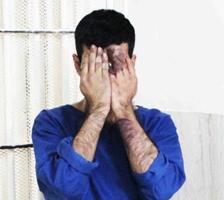دستگیری مرد همسرکش هنگام خودکشی در پل هوایی ۹ دی تهران +عکس