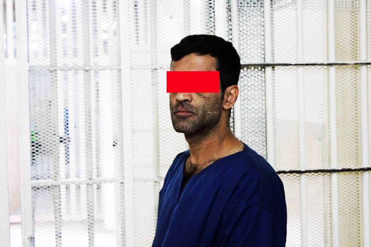 دستگیری مرد همسرکش