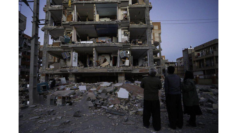 زلزله غرب کشور
