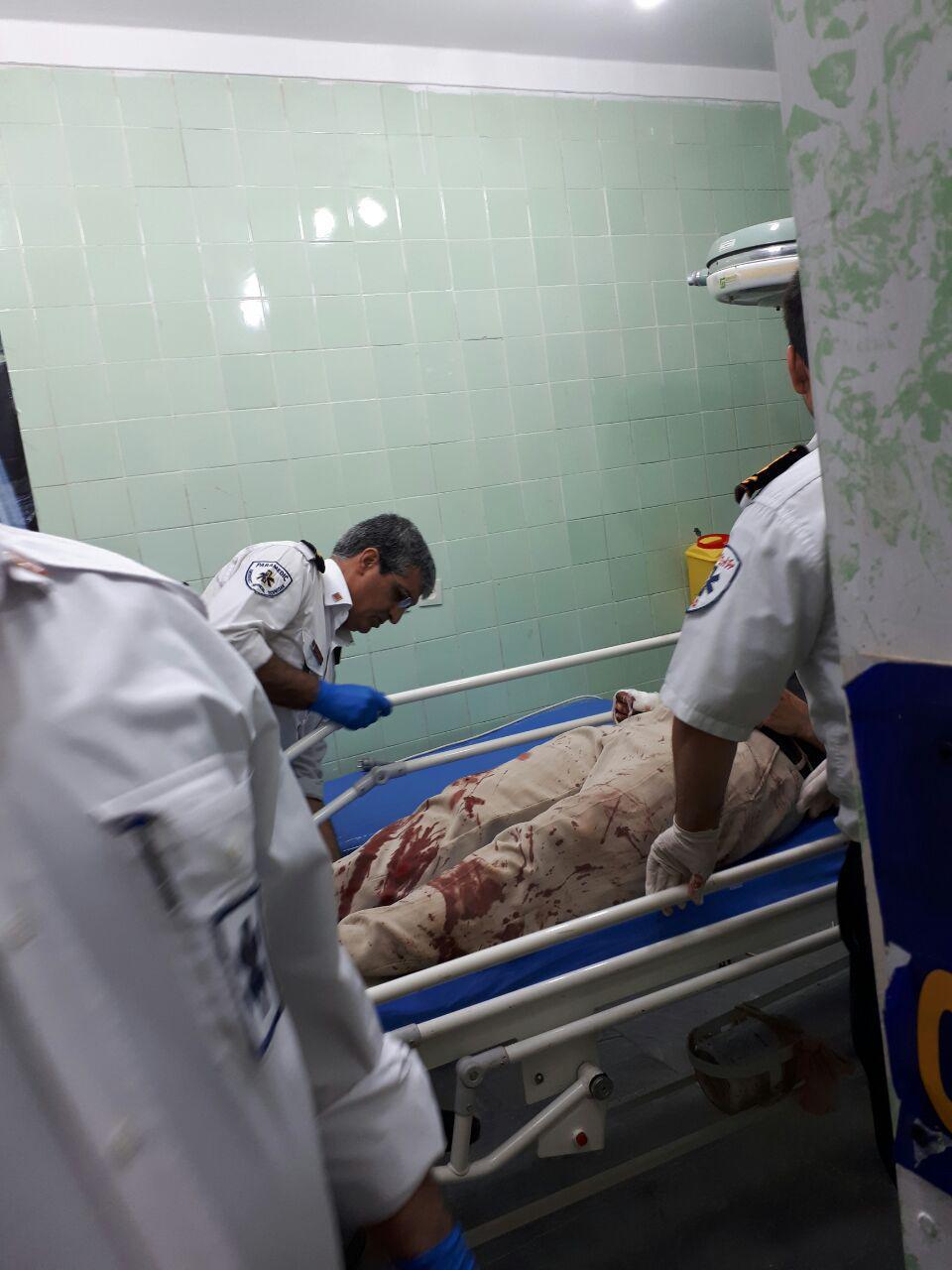 واژگونی اتوبوس در مرز مهران