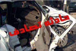 مرگ هولناک ۳ کودک در تصادف جاده ای + عکس