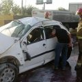 مرگ دختر تهرانی داخل پژو ۲۰۶ مچاله شده +تصاویر وحشتناک