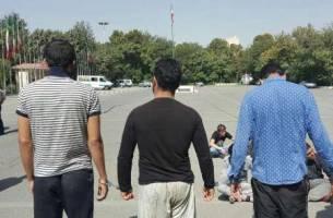 انهدام ۲۶ باند سرقت در تهران + عکس